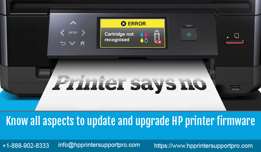Know all aspects to update and upgrade HP printer firmware