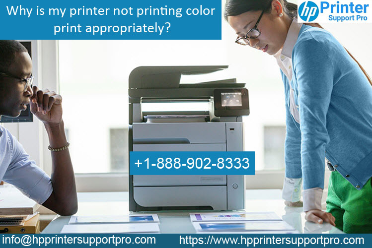 printer not printing color print appropriately @1-888-902-8333