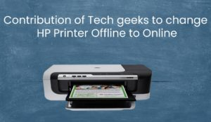 how to fix Printer offline windows 10 or windows 8, Printer