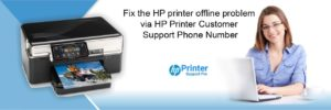 Fix the HP printer offline problem via HP Printer Customer Support Phone Number