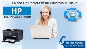 Fix the Hp Printer Offline Windows 10