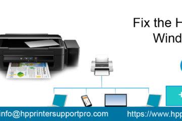Fix HP Printer Offline Windows 10 Issue Archives -