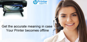 Get the accurate meaning in case your printer becomes offline