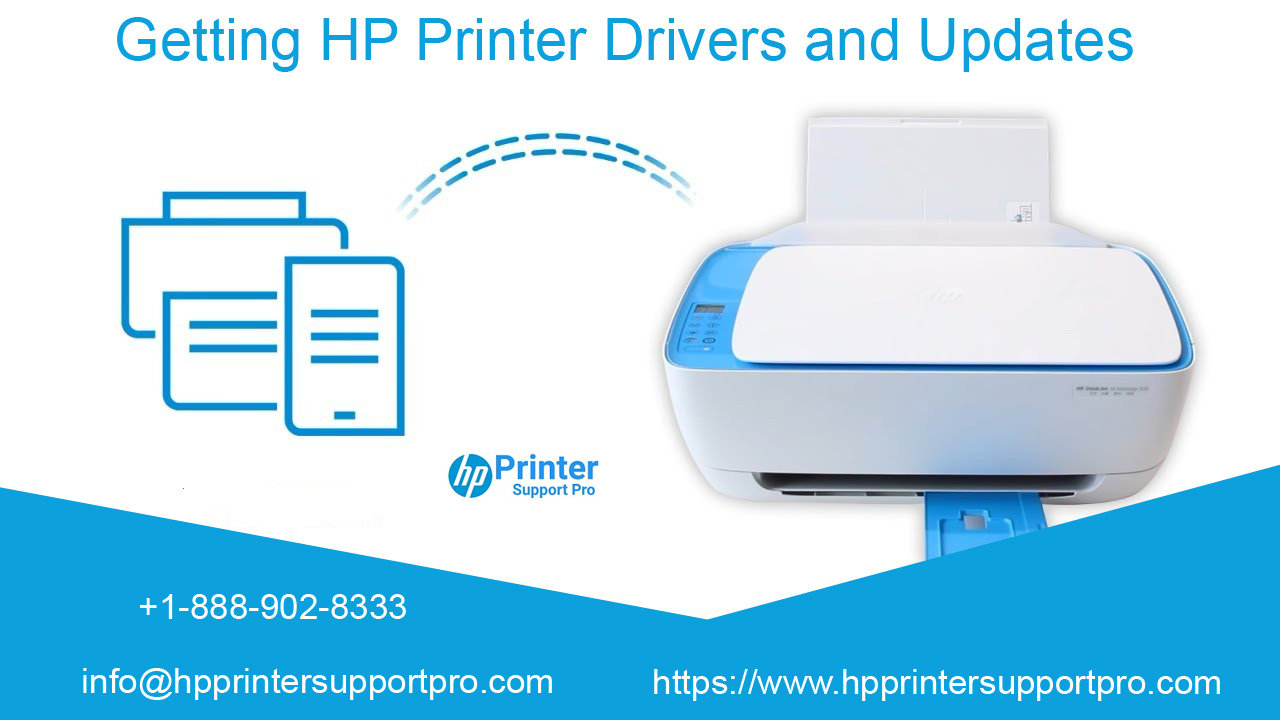 Getting HP Printer Drivers and Updates
