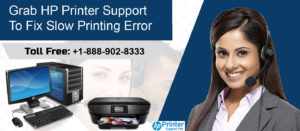 HP Printer Support To Fix Slow Printing Error