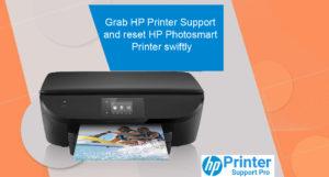 Grab HP Printer Support and reset HP Photosmart Printer swiftly