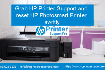 Grab HP Printer Support and reset HP Photosmart Printer swiftly