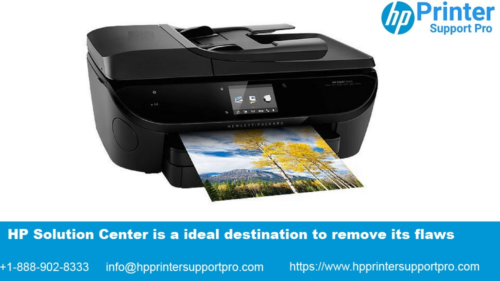 Connect with HP Solution center via 1-888-902-8333 to fix