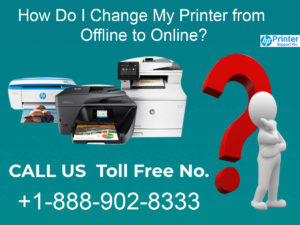 I Change My Printer from Offline to Online
