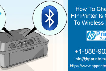 HP Printer Is Connected To Wireless Network