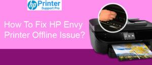 Fix HP Envy Printer Offline Issue
