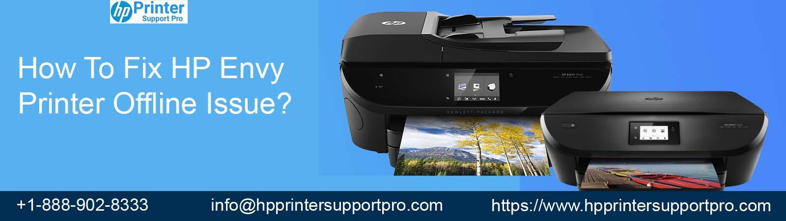 Fix HP Envy Printer Offline Issue call 1-888-902-8333
