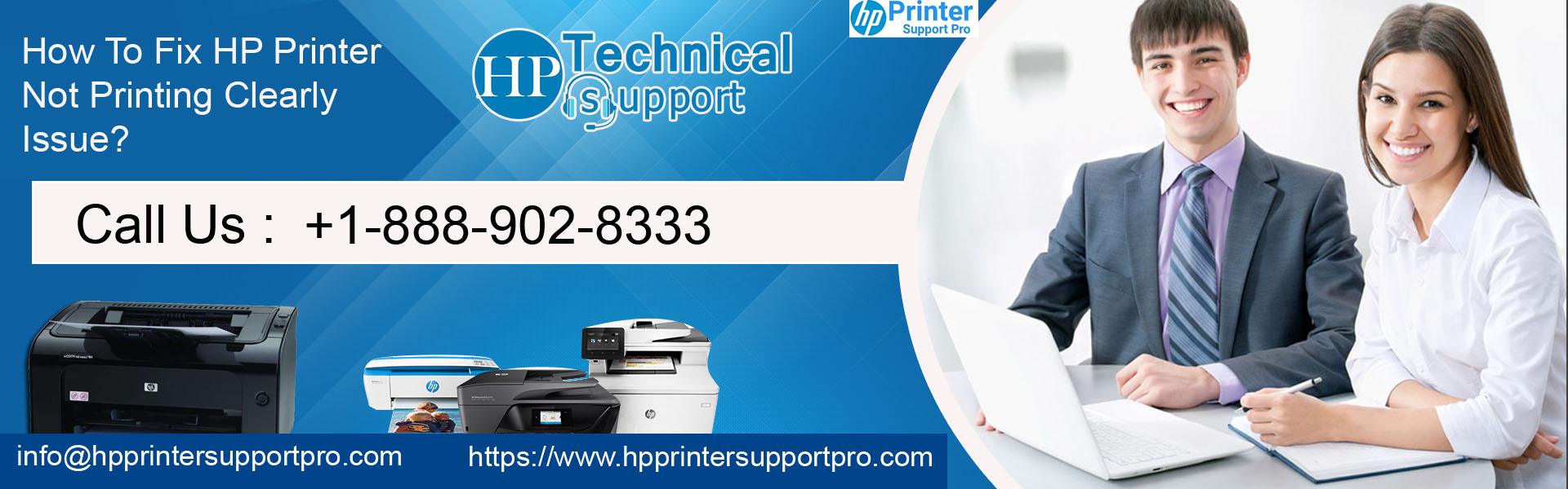 Fix HP Printer Not Printing Clearly Issue, Printer Not Printing