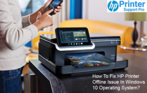 Fix HP Printer Offline Issue In Windows 10 Operating System
