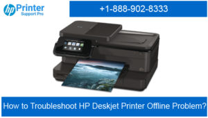 Troubleshoot HP Deskjet Printer Offline Problem