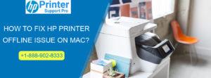 fix HP Printer Offline Issue on Mac