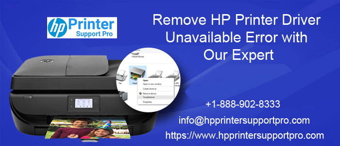 hp 4520 driver is unavailable