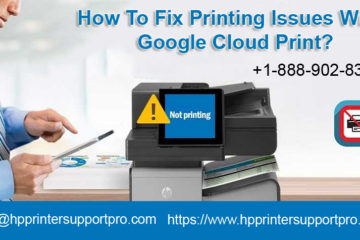 Fix Printing Issues with Google Cloud Print