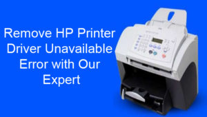 HP printer drivers for windows 10 is not available