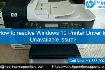 Windows 10 Printer Driver Is Unavailable issue