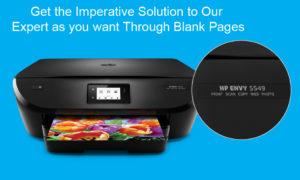 printer print blank page