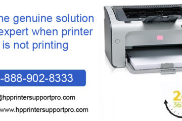 Get the genuine solution with expert when printer is not printing