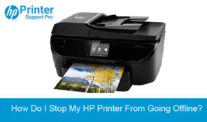 Stop My HP Printer from Going Offline