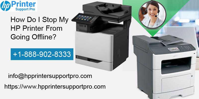 1-888-902-8333 @ Stop My HP Printer from Going Offline