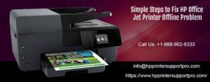 HP Office jet Printer Offline