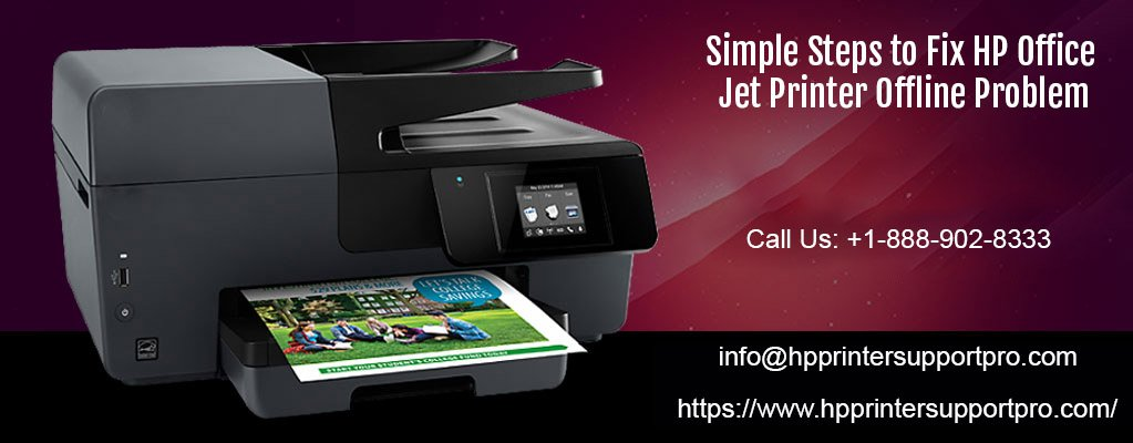 Fix HP Office jet Printer Offline Problem @ 1-888-902-8333