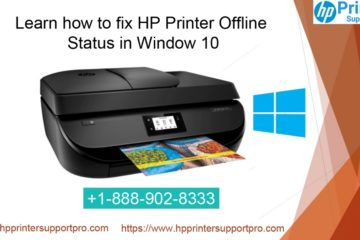 fix HP Printer Offline status in window 10