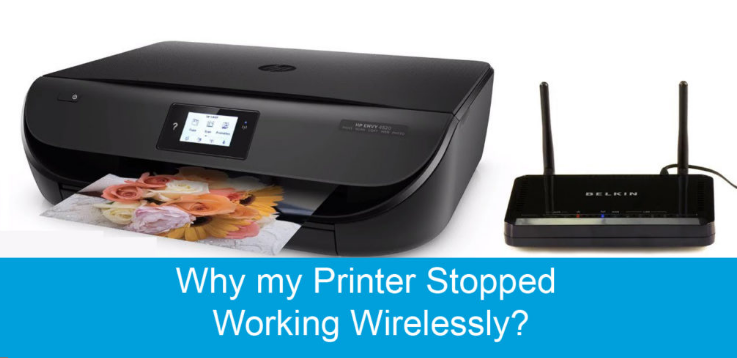 my printer stopped working wirelessly