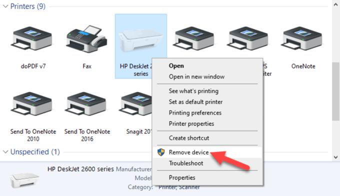 Remove Device