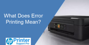 Error Printing Mean