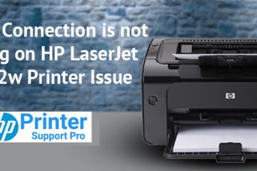 HP LaserJet P1102w Printer Issue