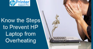 the steps to Prevent HP Laptop from