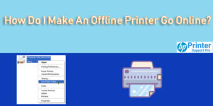 I Make An Offline Printer Go Online