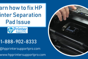 HP Printer Separation Pad Issue