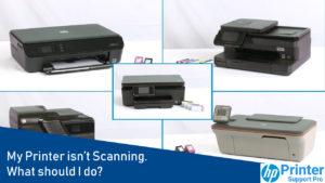 My printer isn't scanning