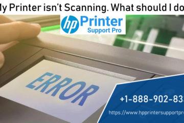 printer isn't scanning