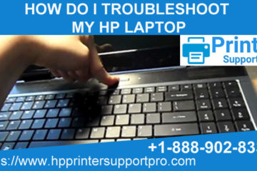 I troubleshoot my HP laptop