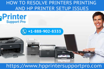 resolve Printers printing and HP printer setup issues
