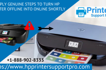 Apply genuine steps to turn HP printer offline into online shortly