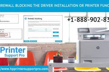 Fix firewall blocking the driver installation or printer function