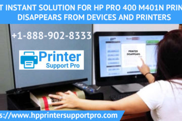 HP Pro 400 M401N Printer Disappears from Devices and Printers