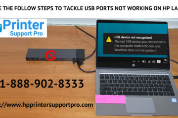 steps to tackle USB ports not working on HP Laptop