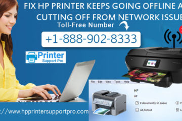 Fix HP printer Keeps going offline and cutting off from network issue