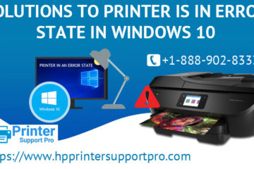 Solutions to Printer is in error state in Windows 10 2