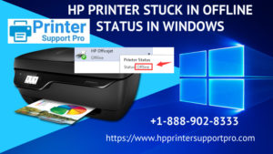 HP Printer Stuck in Offline Status in Windows