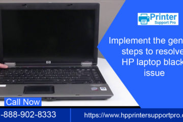 HP LAPTOP BLACK SCREEN
